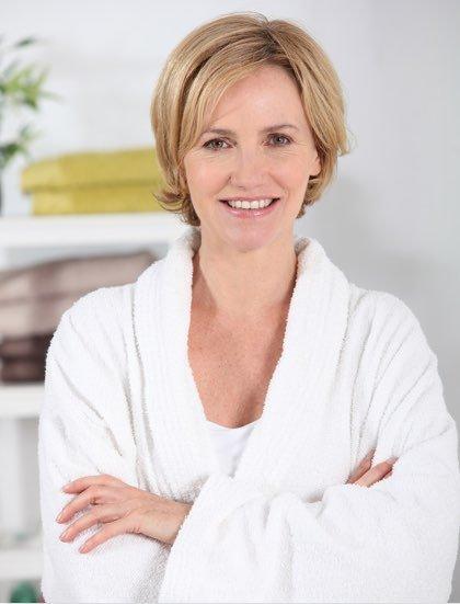 Rejuvenation woman picture